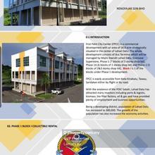 First Palm city centre shop office block 1, Lahad Datu