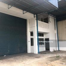 Taman Johor Jaya  1.5 storey corner factory , Taman  Johor Jaya , Johor Bahru