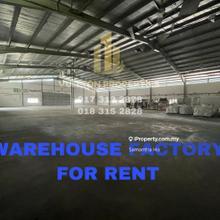 Pengkalan huge warehouse facing mainroad, Pengkalan , Ipoh