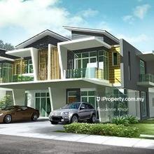 New Launch Hill Top 2 Storey Superlink, Taman Melawati