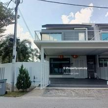 Taman One Krubong Double Storey Corner Renovated, Krubong