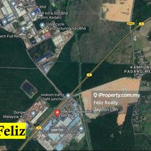 Kulim Hi tech industrial land 6.40 acre for sale, Padang Serai