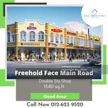 Freehold Face Main Road 2 Sty Shop Tmn Seri Tuah Permai Durian Tunggal Melaka, Freehold 2 Shop Seri Tuah Permai Durian Tunggal, Durian Tunggal