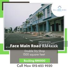 Face Main Road 2 Sty Shop Tmn Belimbing Harmoni Durian Tunggal, Face Main Road Belimbing Harmoni Durian Tunggal, Durian Tunggal