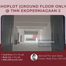 Taman Ekoperniagaan 2 Shoplot (Ground Floor Only) for Rent, Taman Ekoperniagaan 2, Senai