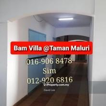 Bam Villa, Taman Maluri, Cheras