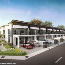New Fully Extend Double Storey with Double Ceiling, Lukut