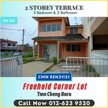 Corner 2 Sty Freehold Teres Tmn Cheng Baru Melaka, Cheng