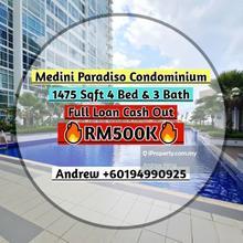 Paradiso Nuova, Medini