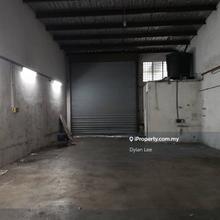 Juru 1.5 Storey Terrace Factory For Sale [Facing Mainroad], Simpang Ampat, Juru