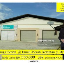 Kampung chedok , Kampung chedok , Tanah Merah