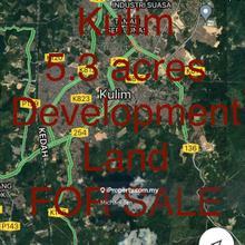 5.6 acres Development LAND at Kulim | FOR SALE , Kulim