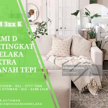 Special Price Freehold Affordable 1 Storey SemiD , Sungai Rambai