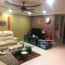 Laman rimbunan, fadason villa, fortune park, Kepong