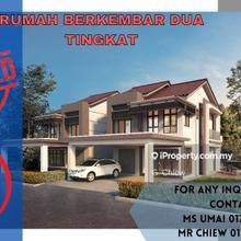 Freehold Luxury 2 Storey Semi D Bumi Hoc Offer, Bertam