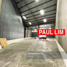 WAREHOUSE RENT AT GEORGETOWN RARE IN MARKET 5275SQFT RM1.80/SQFT STRATEGY LOCATION, Georgetown
