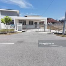 Rumah Berkembar 1 Tingkat di Desa Aman Indahyu, Padang Serai
