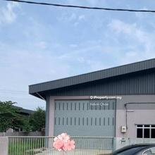 Lahat Semi-D Factory For Rent, Ipoh
