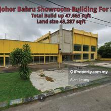 Johor Bahru City Center Commercial Showroom, larkin, Johor Bahru
