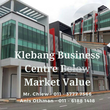 Klebang Business Centre Below Market Value, Melaka 3 Storey Shoplot for SALE!!! , Ayer Keroh