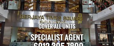 Berjaya times square located in bukit bintang area. It is freehold titlle and strategic location., bukit bintang, Bukit Bintang 1