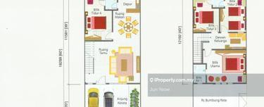 Projek Baru Pertam Jaya ( 41 units, Murah Giler ) , Ujong Pasir 1