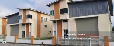 Kawasan Perindustrian Ringan Asas Jaya, Double Storey Semi Detached Factory / Asas Jaya, Bukit Minyak 1