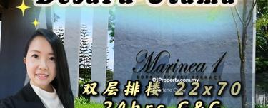 Taman Desaru Utama Marinea 1, Double Storey 22x70, Kota Tinggi 1