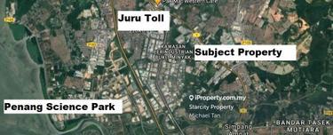Bukit Minyak Detached Factory   Land Size 1.69 acres   FOR SALE , Kawasan Perindustrian Bukit Minyak, Bukit Minyak 1