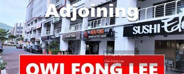 5 Adjoining Shop GROUND & 1ST FLOOR 6500sf + 1433sf Sale With Tenancy, Bayan Baru 1