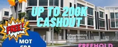 New Township FREEHOLD SHOP, 25% Rebate!! up to RM 200k Cash Out!!, PUTRAJAYA, KAJANG, BANGI, SERI KEMBANGAN, Cyberjaya 1