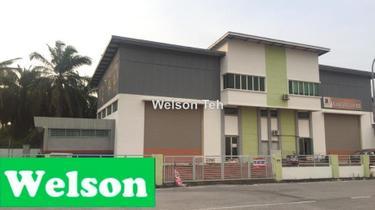 Asas Jaya light Industrial Semi D Factory, Bukit Minyak 1
