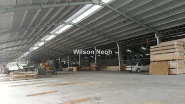 Johor Freehold 20 acre land POWER 2000ampere factory with dormitory, johor, Johor Bahru 1