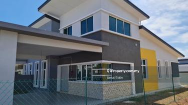 Luxury 1 Storey Semi D Full Loan Last 2 Unit Offer, Bukit Rambai 1