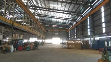 80k sf. Detached Factory For Sale @ SILC, Nusajaya, Gelang Patah, Johor Bahru 1