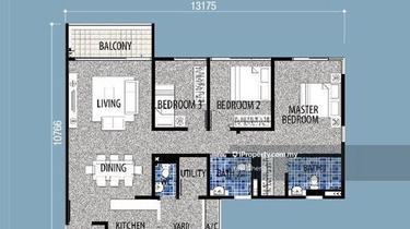 Seri Austin Residence (Pangsapuri Seri Austin), Taman Seri Austin, Tebrau 1