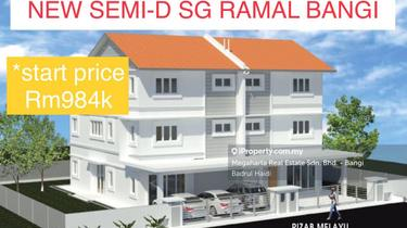 New project Semi-D Sg Ramal Bangi , Bangi 1