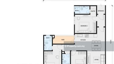 Residensi PV18, Setapak 1