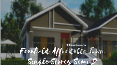 Freehold Affordable Town Single Storey Semi D, Jasin 1
