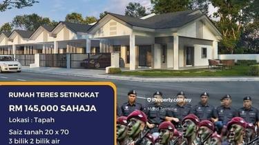 Rumah anggota tentera & polis rm 100 booking, Tapah 1
