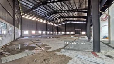 Senai Kulai Kempas  Detached Factory Corner with Extra Land for Sale, Senai 1