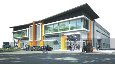 i-Park @ SILC Nusajaya Semi-D Factory, Iskandar Puteri (Nusajaya) 1