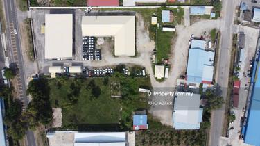 Tapak Kilang dengan keluasan 4.8ekar termasuk Bangunan Perniagaan Untuk Dijual Di Pengkalan Chepa, Kawasan Perindustrian Mara Pengkalan Chepa, Pengkalan Chepa 1
