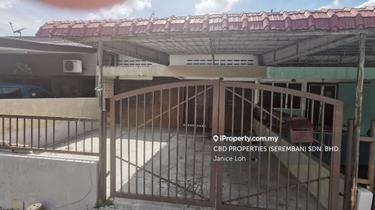 RASAH Single storey terrace nearby Hospital, Rasah 1