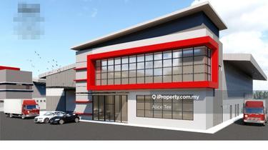 Senai Seelong Kempas Brand New Detached Factory for Sale, Senai 1