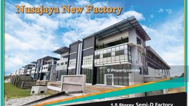 Alam Jaya Nusajaya New Semi D Factory, Alam Jaya New Semi D Factory (Gelang Patah), Iskandar Puteri (Nusajaya) 1