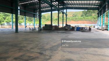 Senai Open Shed Factory with 2 Storey Office Floor 200 Amp, Senai 1