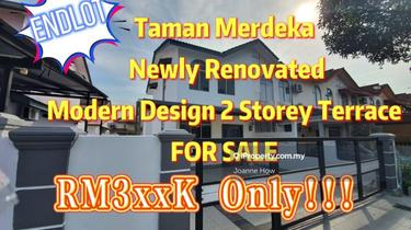 ENDLOT Taman Merdeka 2 Storey Terrace near Cheng, Melaka Tengah 1