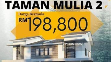 50k cash back rm100 booking taman mulia, Sitiawan 1