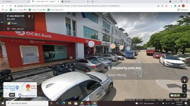 Taman molek 3 storey shoplot facing main road, Taman molek, Johor Bahru 1